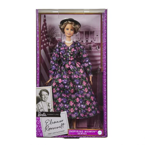 Barbie Celebrates International Women's Day With New Eleanor Roosevelt Doll