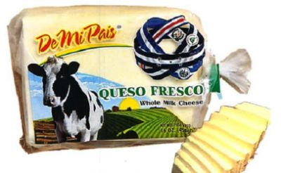 Global Garlic Inc. Recalls Queso Fresco/ Whole Milk Cheese Because Of Possible Health Risk