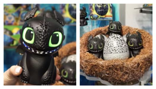 OMG, A Toothless 'How To Train Your Dragon' Hatchimal Is Coming