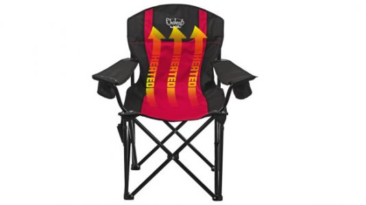 Every Sports Parent Needs This Heated Folding Chair Immediately