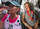 London Marathon runner was left fighting for her life in a coma after drinking too much water