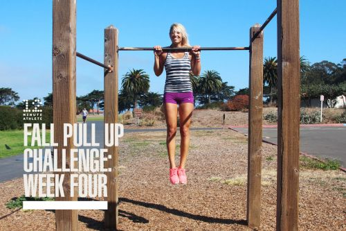 Fall Pull Up Challenge: Week 4