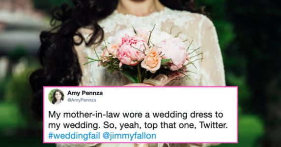 Mother-In-Law Wears Bridal Gown To Her Son's Wedding And Twitter Melts Down