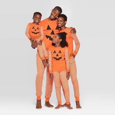 Target Has Matching Halloween Pajamas For The Whole Family - Even Your Dog