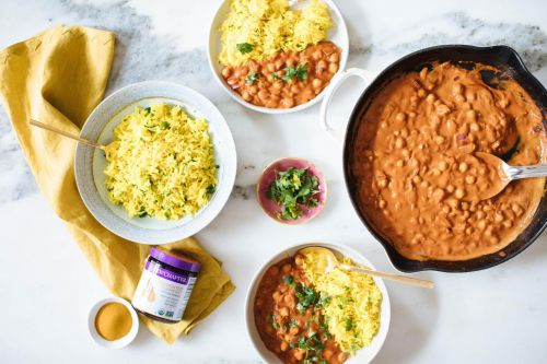 1-pot Chickpea Curry with Turmeric Rice