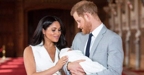 This New Father's Day Photo Of Prince Harry And Baby Archie Is Everything