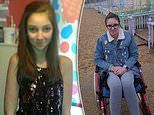 Suicidal girl whose family believe was left paralysed from the HPV vaccine needs £10,000 for therapy