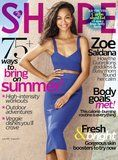 Zoe Saldana: 'I've Never Wanted Different Hair or My Body Any Other Shape'
