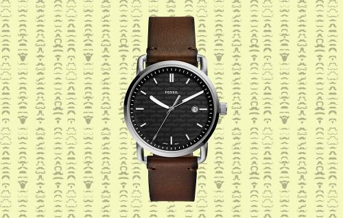Fossil's New Watch Lets You Contribute to Movember-No Mustache Required