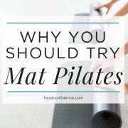 Why You Should Try Mat Pilates