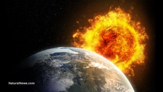 Solar eruptions send shock waves through space; 3D models created by NASA satellites map trajectory