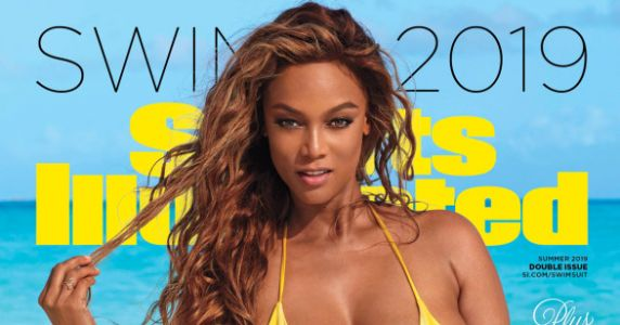 Tyra Banks Slays Cover Of Sports Illustrated At 45