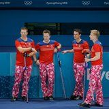 Norway's Curling Team Wore Special Pants For Valentine's Day - Now We're in Love With Them