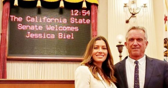 The Vaccine Bill Jessica Biel Lobbied Against Just Passed