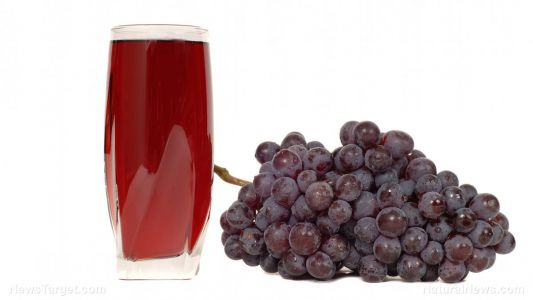 Grape juice can increase antioxidants without causing high blood sugar or uric acid