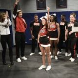 SNL's Navarro Cheer Parody Includes Lots of Absurd Injuries - Till Halsey Saves the Day!
