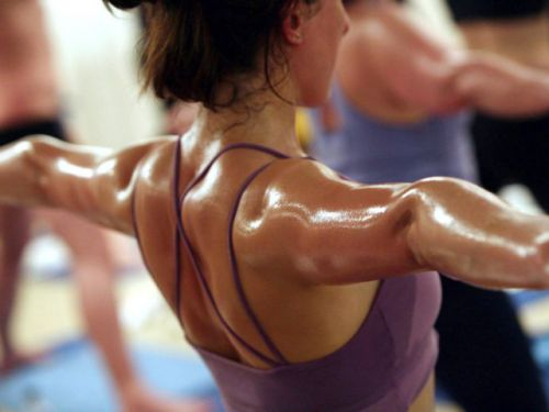 No need to break a sweat during hot yoga: Study finds high temperatures don't bring added benefits