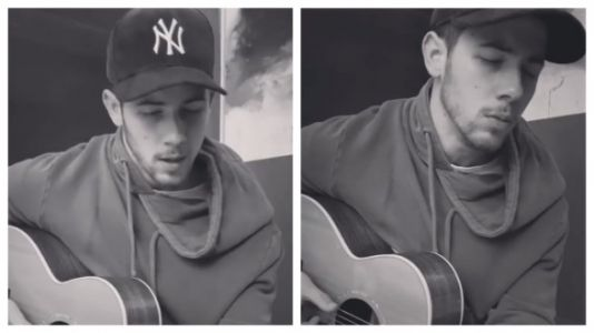 Nick Jonas' Intimate Rendition Of Shallow Will Make You Feel Things