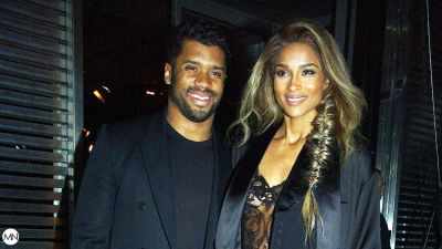 Life And Workout Partners: Ciara And Russell Wilson Do Battle With Battle Ropes As A Team