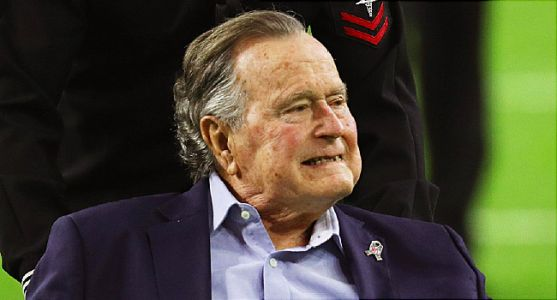 George H.W. Bush Hospitalized Due to Blood Infection