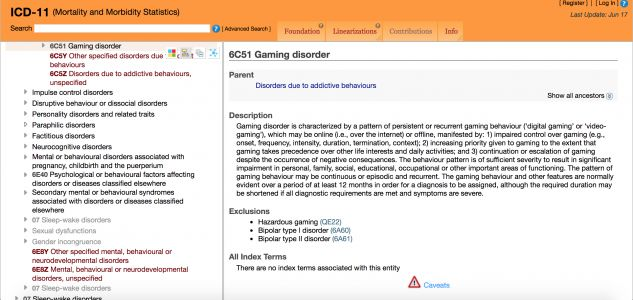 Video Game Addiction Is Now Officially Classified As A Mental Illness
