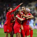 Watch Every Goal Scored in the US Women's Soccer Team's 13-0 Win Over Thailand