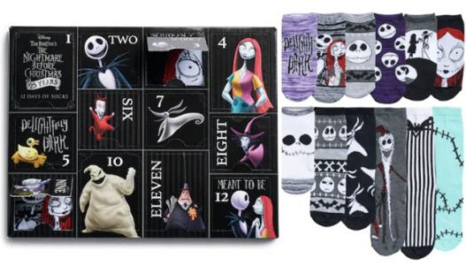 This 'Nightmare Before Christmas' Sock Advent Calendar Is Only $20