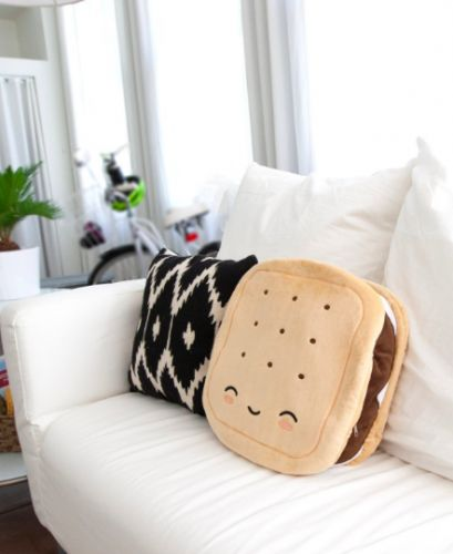 Winter Won't End So Snuggle With A Heated S'mores Pillow