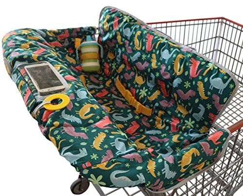 These Shopping Cart Covers Keep Baby Comfy & Clean At The Grocery Store