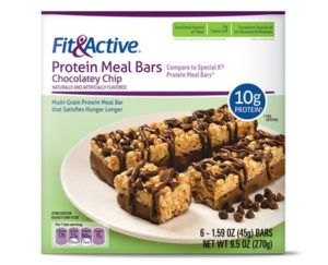 Fit & Active bars recalled from Aldi stores for plastic bits
