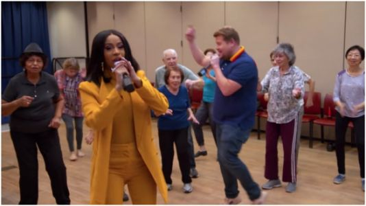Stop Everything And Watch This Video Of Cardi B Performing At A Senior Center