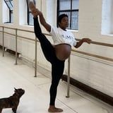 These Videos of Pregnant Ballerina Ingrid Silva Training in Her 3rd Trimester Are Mesmerizing
