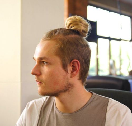 Who Can Get Their Husband To Wear A Man Bun? Anyone?