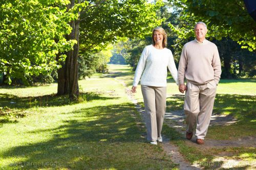 Don't be lazy: A quick, brisk walk every day can stave off disability in later life