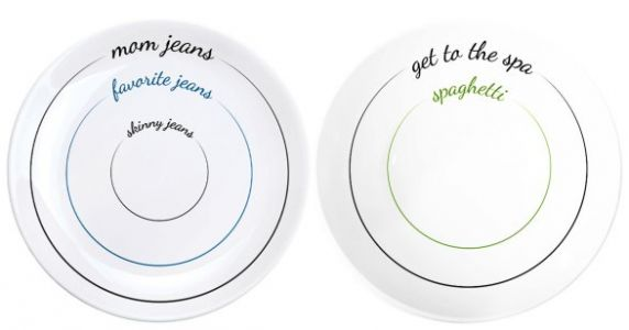 This Fat-Shaming Line Of Dinnerware Can F*ck Right Off