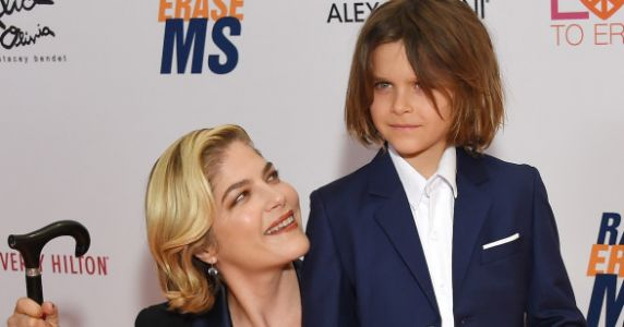 Selma Blair Posts Touching Video How Mobility Aids Help Her Parent With MS
