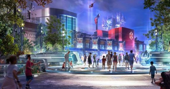 An Entire Marvel-Themed Land Is Coming To Disneyland Next Year