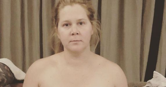 Amy Schumer's Pumping Selfie Is As Real As It Gets