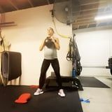 """Alex Morgan's Due Date Is Coming Up, and This Is the Workout Keeping Her """"Sane and Fit"""""""