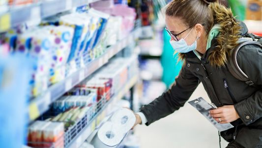 Americans panic over FALSE coronavirus test results - supermarkets start limiting toilet paper, again