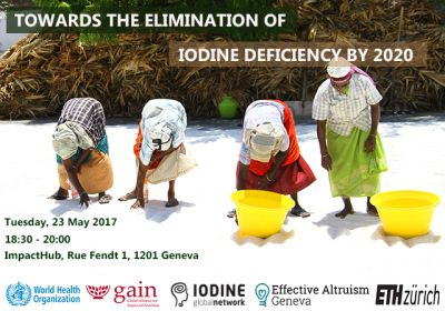 70th World Health Assembly: GAIN hosts key events on iodine deficiency and adolescent nutrition