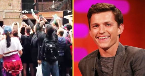 Tom Holland Came To The Rescue Of A Distressed Fan In NYC