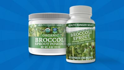 Health Ranger Store announces high-sulforaphane organic broccoli sprout powder and capsules