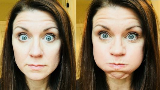 Face Yoga Is A Thing, And We Are Intrigued