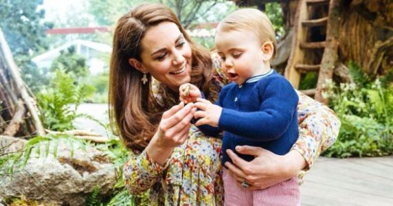 The Palace Releases The CUTEST New Photos Of George, Charlotte, And Louis