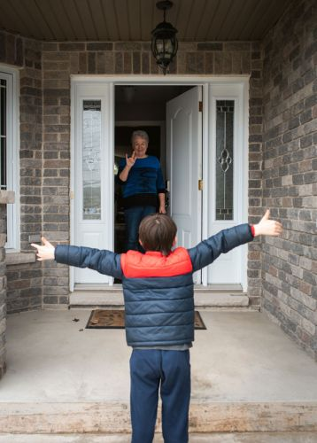 What To Know About Visiting The Grandparents During A Pandemic