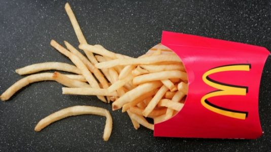McDonald's French Fry Boxes Have An Actual Purpose And The Internet Is Shook
