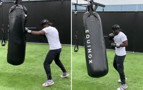 Kevin Hart Shows Off His Boxing Skills In a New Instagram Video