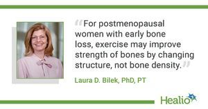 Bisphosphonate superior to bone-loading exercise for fracture prevention in postmenopause