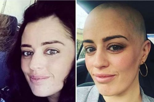 'I was giving birth to our daughter and my partner had no clue I had no hair'